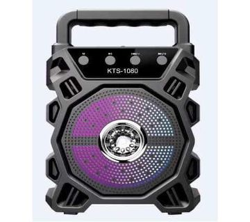 KTS-1080 Wireless Portable Bluetooth Speaker support SD Card, Pendrive, FM & Microphone