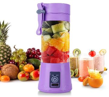 Portable USB Electric Smart Home Fruit Juicer Vegetable Juice Maker Blender Rechargeable Cup With Charging Cable