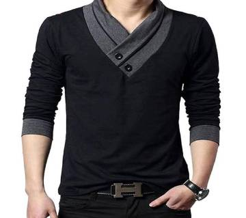 Gents Full Sleeve T-shirt-8