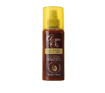Xpel Argan Oil Heat Defense Leave in Spray-150ml-UK