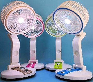 FOLDING FAN & LIGHT MULTIFUNCTION USB CHARGING