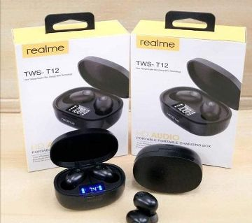 Realme Tws T12 Bluetooth Wireless Earbuds