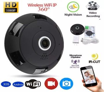 V380 Panoramic Wifi Camera Night Vision