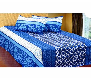 Home Tex Bed Sheet & Pillow Cover - 1069