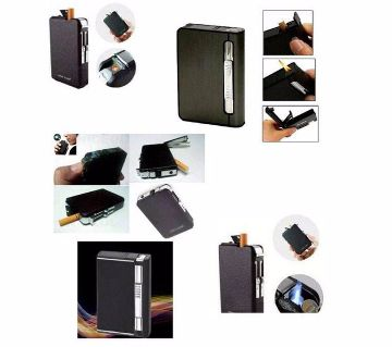 2-in-1 Cigarette Case With Lighter