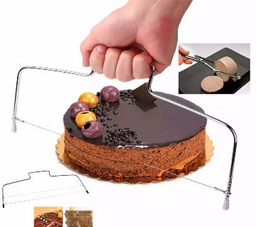 Hot kitchen tools stainless steel wire cutter cake cutter bread cutting leveler decorator kitchen tool