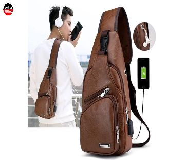 Unisex Crossbody Fashion Backpack