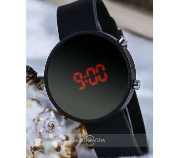 Round Digital  Watch