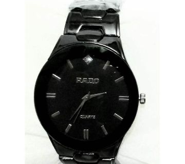Rado mens wrist Watch Full  Black  (copy)
