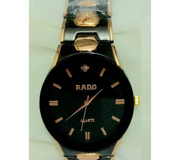 Rad Mens Wrist watch Black  And Rose Gold  (copy)