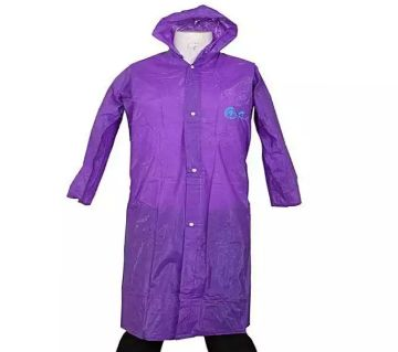 Waterproof  Rain Coat  Purple