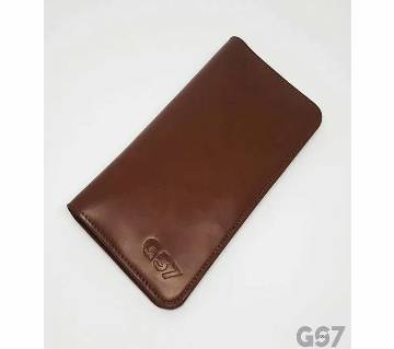 GS7 Artificial Leather Long Wallet