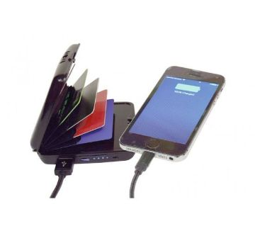 Insta-Charge Wallet with RFID Protection
