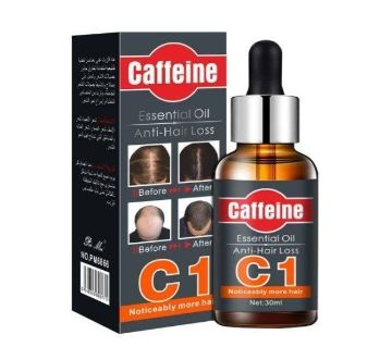Caffeine Essential Oil Anti Hair Loss 30ML china