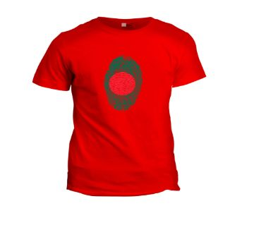 Half Sleeve T-Shirt for men -red