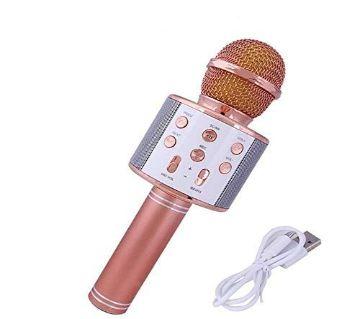 Ktv- Ws858 Wireless Karaoke Handheld Microphone Usb Player Bluetooth Mic Speaker