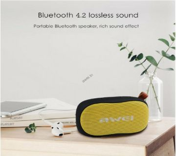 Awei Y900 Bluetooth 4.2+EDR Speaker Protable Wireless Soundbar Mini Subwoofer Support TF Card MP3