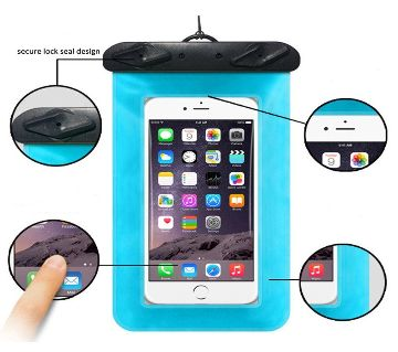 Waterproof Mobile Bag - Multicolur