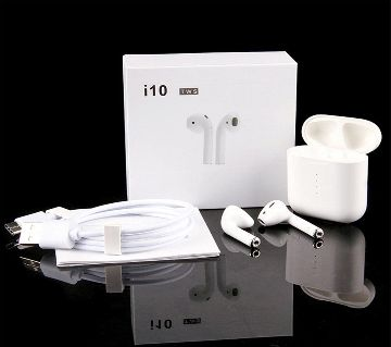 WIRELESS BLUETOOTH 5.0 I10 MAX AIR EAR EARPHONES