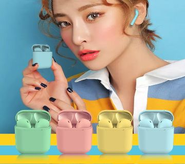 InPODS 12 TWS wireless headphones mini AirPods Bluetooth 5.0 Earphones Earbuds Charging box mic for all phone