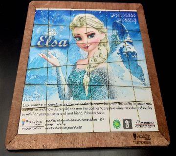 Colour Puzzle (World Tour Puzzle) - Frozen Elsa