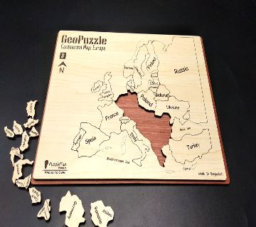 Continental Map Puzzle (Europe) (Non Magnetic)
