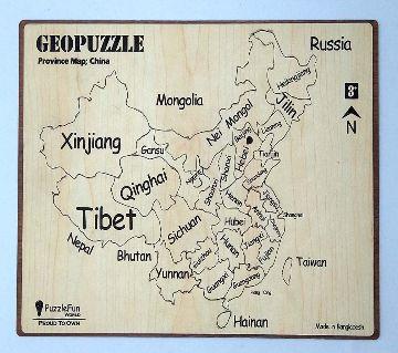 Geo Puzzle China Map