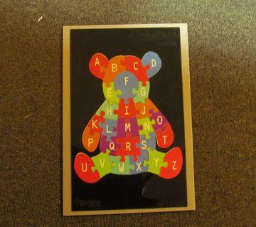 Alphabet Bear Puzzle