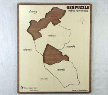 Laxmipur Zilla Map
