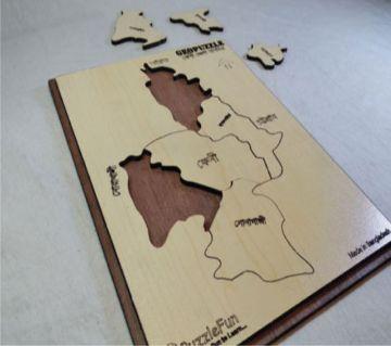 Feni Zilla Map