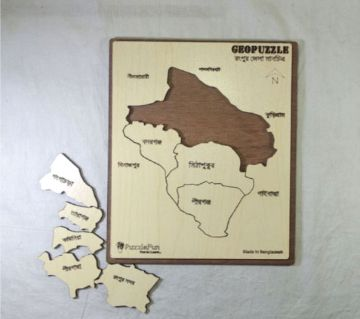 Rangpur Zilla Map