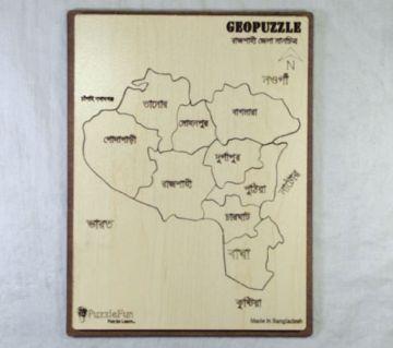 Rajshahi Zilla Map