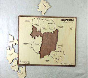 Naogaon Zilla Map
