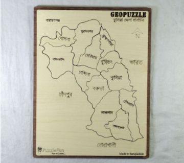 Cumilla Zilla Map