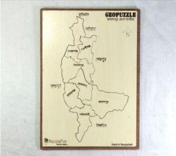 Jamalpur Zilla Map