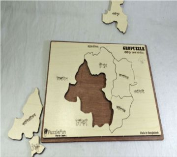 Gazipur Zilla Map