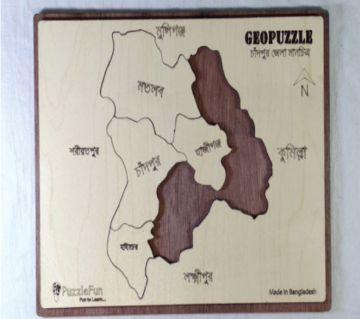 Chandpur Zilla Map