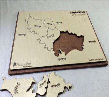 Kushtia Zilla Map