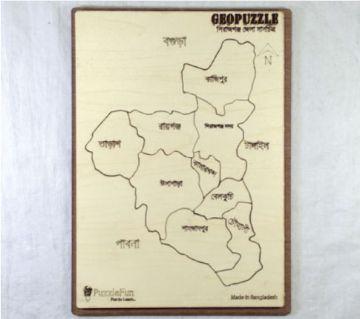Sirajgonj Zilla Map
