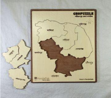 Shariotpur Zilla Map