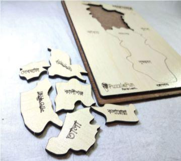 Satkhira Zilla Map