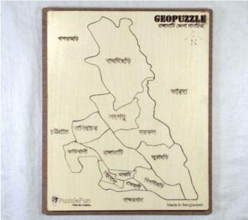 Rangamati Zilla Map