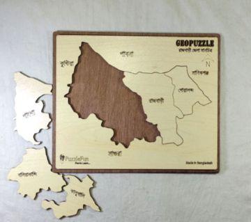 Rajbari Zilla Map