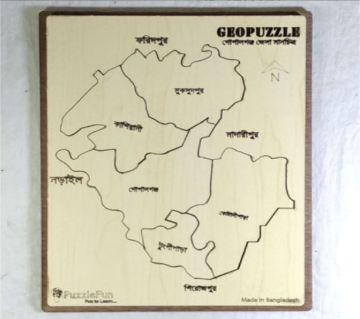Gopalgonj Zilla Map Puzzle