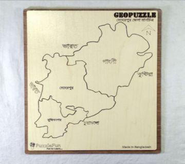 Meherpur Zilla Map Puzzle