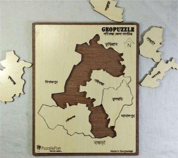 Gaibandha Zilla Map Puzzle