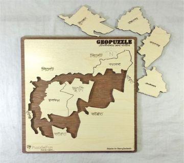 Moulovibazar Zilla Map Puzzle