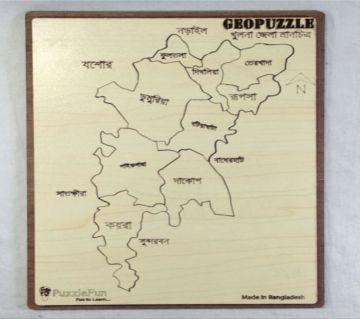 Khulna Zilla Map Puzzle