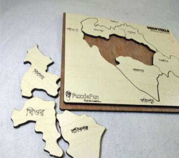 Manikgonj Zilla Map Puzzle