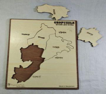 Jhalokathi Zilla Map